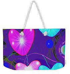 472 -  Valentine Hearts  ... Weekender Tote Bag