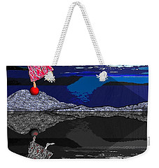 483 - Crucial  Dance Of Life Weekender Tote Bag by Irmgard Schoendorf Welch