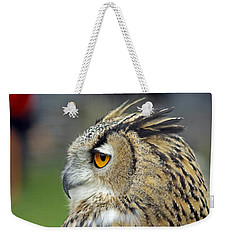 European Eagle Owl Weekender Tote Bag