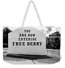 Free Derry Corner 5 Weekender Tote Bag