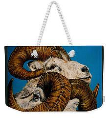 Horns Weekender Tote Bag