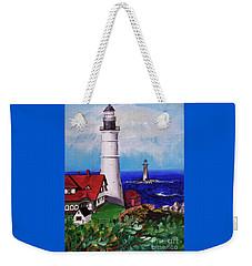 Lighthouse Hill Weekender Tote Bag