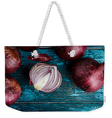 Red Onions Weekender Tote Bag by Nailia Schwarz