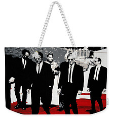 Reservoir Dogs Weekender Tote Bag by Luis Ludzska