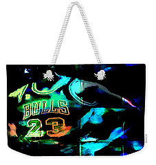 Weekender Tote Bag featuring the digital art 5 Seconds Left by Brian Reaves