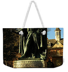 William And Mary College With Wren Building Weekender Tote Bag