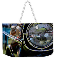 Weekender Tote Bag featuring the photograph 50's Chevy by Dean Ferreira