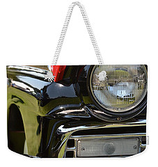 Weekender Tote Bag featuring the photograph 50's Ford by Dean Ferreira