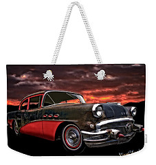 53 Buick Special Two Door Weekender Tote Bag