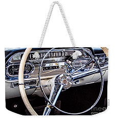 58 Cadillac Dashboard Weekender Tote Bag
