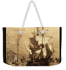 A Pirate Looks At Fifty Weekender Tote Bag by John Stephens