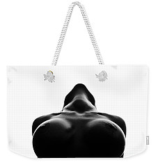 Black And White Nude Weekender Tote Bag by Gunnar Orn Arnason