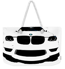 Weekender Tote Bag featuring the photograph BMW by J Anthony