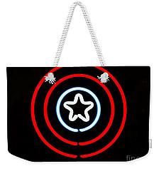 Captain America Weekender Tote Bag by Kelly Awad