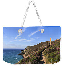 Chapel Porth Cornwall Weekender Tote Bag