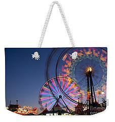 Evergreen State Fair With Ferris Wheel Weekender Tote Bag