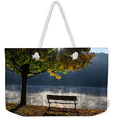 Mount Pisgah Morning Weekender Tote Bag