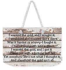 Spell Of Yukon Weekender Tote Bag