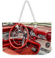 62 Thunderbird Interior Weekender Tote Bag