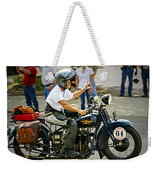 64 Flat Weekender Tote Bag