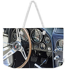 '66 Corvette Dash Weekender Tote Bag