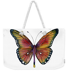 66 Spotted Wing Butterfly Weekender Tote Bag