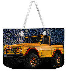 69 Ford Bronco 4x4 Restoration Weekender Tote Bag