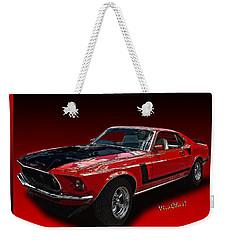 69 Mustang Mach 1 Weekender Tote Bag
