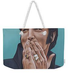 69 Press Conference Weekender Tote Bag