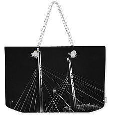 6th Street Bridge Black And White Weekender Tote Bag