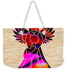 Angel Weekender Tote Bag by Marvin Blaine