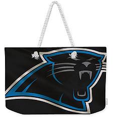 Carolina Panthers Uniform Weekender Tote Bag