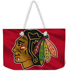 Chicago Blackhawks Uniform Weekender Tote Bag