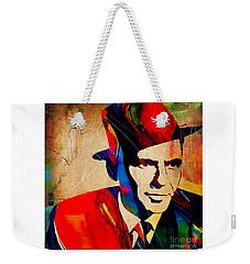 Frank Sinatra Weekender Tote Bag by Marvin Blaine