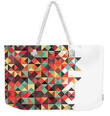 Geometric Art Weekender Tote Bag