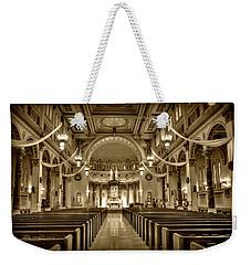 Holy Cross Catholic Church Weekender Tote Bag by Amanda Stadther