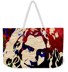 Robert Plant Weekender Tote Bag by Marvin Blaine