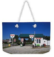 Route 66 Sinclair Station Weekender Tote Bag
