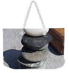 7 Stone Cairn Weekender Tote Bag
