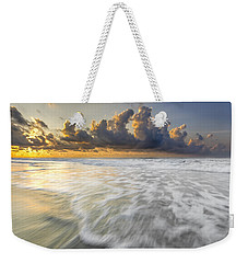Sunrise On Hilton Head Island Weekender Tote Bag by Peter Lakomy