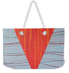 Weekender Tote Bag featuring the painting Untitled by Kyung Hee Hogg