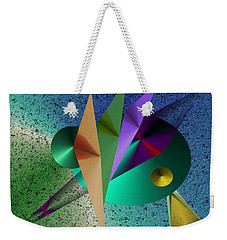 Abstract Bird Of Paradise Weekender Tote Bag