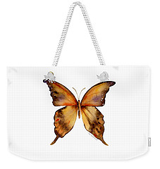 7 Yellow Gorgon Butterfly Weekender Tote Bag