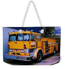 710 ....... Fire Dept. Weekender Tote Bag by Daniel Thompson