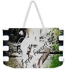 '77 Farrah Fawcett Weekender Tote Bag by Absinthe Art By Michelle LeAnn Scott