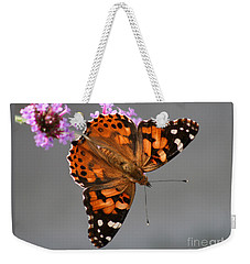 American Painted Lady Butterfly Weekender Tote Bag