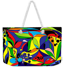 Design By Loxi Sibley Weekender Tote Bag by Loxi Sibley