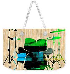 Drums Weekender Tote Bag