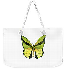 8 Goliath Birdwing Butterfly Weekender Tote Bag