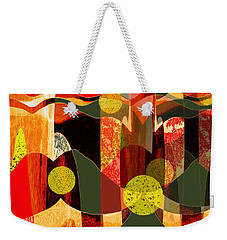 807 - Walk Through The Autumn Forest Weekender Tote Bag